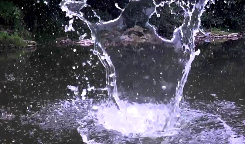 Почему круги на воде круглые