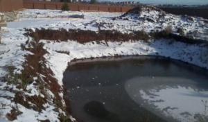 Уровень грунтовых вод зимой