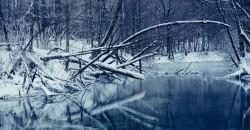 Почему вода в роднике не замерзает